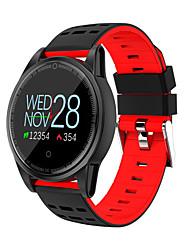 Недорогие -R13 s смарт-часы oled цветной экран фитнес-трекер монитор сердечного ритма фитнес смарт-браслет массаж уведомление смарт-браслет