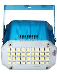 abordables -1 set led lumières de la scène contrôle du son 36led lumières stroboscopiques flash dj bar décoration de la salle de bal