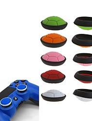 Недорогие -Рукоятки ручки большого пальца игрового контроллера с 2 частями для силикона xbox one / ps4 / sony ps2