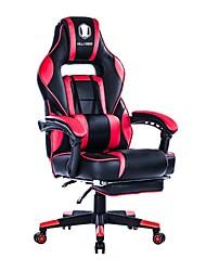 Недорогие -Killabee откидывающаяся пена памяти гоночный стул для игр - эргономичный гоночный компьютерный стол с высокой спинкой, офисный стул с убирающейся подставкой для ног и ...