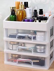 billige -skuffe type støvtæt kosmetisk opbevaringsboks skrivebord opbevaringsboks dressing bord hylde hudpleje produkt opbevaringsboks