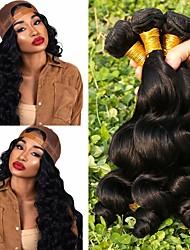 저렴한 -3 개 묶음 브라질리언 헤어 루즈 웨이브 100 % 레미 헤어 위브 번들 인간의 머리 직조 번들 헤어 한 팩 솔루션 8-28 inch 자연 색상 인간의 머리 되죠 창조적 클래식 멋진 인간의 머리카락 확장 여성용