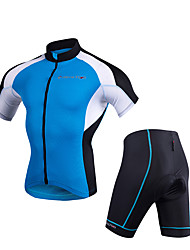 Недорогие -Одежда для мотоциклов Короткие рукава для Муж. Полиэстер Лето Эластичный / Дышащий / Защита от солнечных лучей