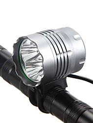 Недорогие -Светодиодная лампа Велосипедные фары Передняя фара для велосипеда Фары для велосипеда Фонарь LED Горные велосипеды Велоспорт Водонепроницаемый Портативные Супер яркий 18650 3600 lm