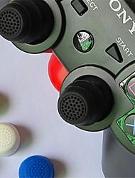 Недорогие -1 пара защитного колпачка сверхвысокого джойстика с силиконовым удлинителем для игрового контроллера, ручки для большого пальца, ручки для xbox one / ps4 / sony ps2