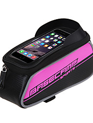 Недорогие -Сотовый телефон сумка Бардачок на раму 5 дюймовый Велоспорт для Серебряный Красный Темно-красный Велосипеды для активного отдыха