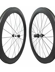 Недорогие -FARSPORTS 700CC Колесные пары Велоспорт 28 mm Шоссейный велосипед Углеродное волокно Клинчерная покрышка 20/24 Спицы 58 mm