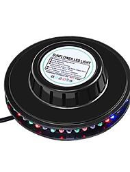 abordables -1 set 5 W 5800 lm 48 Perles LED Tricolore Lampe LED de Soirée RVB 85-265 V