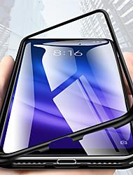 Недорогие -Кейс для Назначение Huawei Mate 10 pro / Mate 10 lite / Huawei Mate 20 lite Прозрачный Чехол Однотонный Твердый Металл