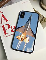 Недорогие -чехол для iphone xs max 8 plus задний чехол мягкий чехол тпу летящий самолет мягкий тпу для iphone x 7 плюс 7 6 плюс 6 5 se 5s 5 8 xr xs