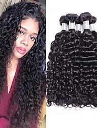 voordelige -4 bundels Braziliaans haar Recht 100% Remy haarweefselbundels Menselijk haar weeft Bundle Hair Een Pack Solution 8-28inch Natuurlijke Kleur Menselijk haar weeft Zijdeachtig Modieus Dik Extensions van