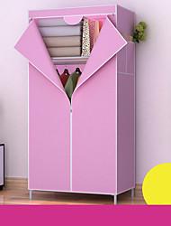 levne -ložnice ložnice šatní skříň netkaná textilie ocelový rám výztuha stojící oděv skladování organizátor skříňka ložnice nábytek