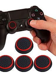 Недорогие -litbest игровой контроллер ручки большого пальца ручки для Sony PS3 / Xbox 360 / Xbox один, игровой контроллер ручки ручки большого пальца силикон 1 шт. блок