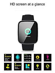 Недорогие -SMA Z30 Мужчина женщина Смарт Часы Android iOS Bluetooth Водонепроницаемый Сенсорный экран Пульсомер Измерение кровяного давления Спорт