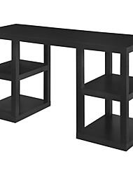 Недорогие -современный домашний офис компьютерный стол с отделкой из черного дуба