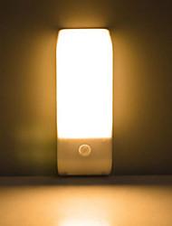 Недорогие -Пир инфракрасный датчик движения USB аккумуляторная 12 светодиодный ночник индукции света коридор шкаф гардероб ночник светодиодный USB