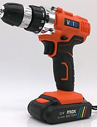 Недорогие -VOTO заряженный ручной дрель 21 В двойной скорости микро многофункциональный электрический винт инструмент партия малых литиевая электрическая дрель