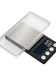 Недорогие -высокоточные карманные ювелирные весы баланс 0,05 г-500 г портативный цифровой лабораторный вес грамм масштаба медицинское использование