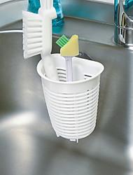 preiswerte -Gute Qualität mit Kunststoff Hängende Körbe Für Kochutensilien Küche Lager 3 pcs