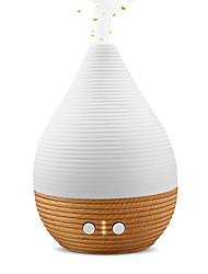 abordables -humidificateur à ultrasons domestique de machine d'aromathérapie de porcelaine blanche de parfum en bois