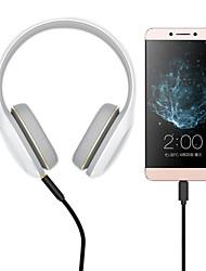 hesapli -Ses kablosu 1.5 m (5ft) örgülü alüminyum / oxford kumaş iphone için usb kablosu adaptörü / sony / htc