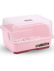 halpa -Korkealaatuinen kanssa Muovit Säilytyslaatikko Päivittäiskäyttöön / For Keittoastiat Keittiö varastointi 1 pcs