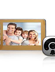 tanie -GX08 Wi-Fi 4.5 in telefon One to One video domofon