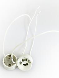 cheap -1pc GU10 Bulb Holder with Wire E14 100-240 V Converter Plastic Light Bulb Socket