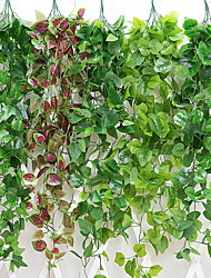 Недорогие -Искусственные Цветы 1 Филиал Классический Традиционный Простой стиль Pастений Вечные цветы Цветы на стену