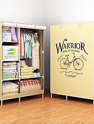 billige -non woven garderobe foldning praktisk kludskab bærbare tøj opbevaring skab tøj arrangør garderobe