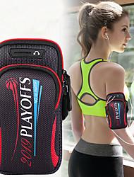 Недорогие -унисекс сумка сумка спортивная сумка для бега тренажерный зал рука с держателем сумка мобильный телефон ключ сумка 6,4 дюйма