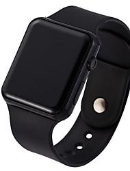 Недорогие -Муж. электронные часы Цифровой Pезина Черный 30 m Защита от влаги Творчество Новый дизайн Цифровой На каждый день Мода - Лиловый Золотистый Розовое золото Один год Срок службы батареи