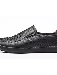 abordables -Homme Chaussures de confort Polyuréthane Eté Mocassins et Chaussons+D6148 Marche Noir / Marron