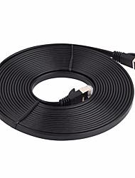 Недорогие -сетевой кабель cat7 сетевой кабель плоский кабель патч-корд 5м