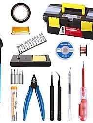 Недорогие -16-в-1 электрический утюг комплект 60 Вт без свинца регулируемый wenluo утюг контроль температуры паяльная ручка сочетание инструментов 220 В