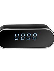 Недорогие -Wi-Fi будильник беспроводные часы смарт-устройство 1080 P HD IP-камера безопасности IP65 водонепроницаемый крытый многопользовательская камера наблюдения поддерживает 64 ГБ / Iphone OS / Android