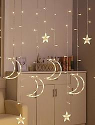 preiswerte -brelong 8 Funktionssternlichtschnur im Freien imprägniern dekoratives Vorhanglicht 3.5m 12led