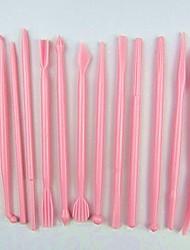 Недорогие -набор инструментов для лепки украшений для украшения торта и помады для украшения торта, лепки из керамики