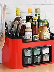 halpa -Korkealaatuinen kanssa Muovit Säilytyslaatikko Päivittäiskäyttöön / Uutuusvälineet keittiöön Keittiö varastointi 1 pcs