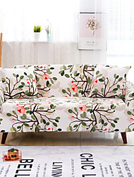 cheap -Sofa Cover High Stretch Leaves Tree Printed Soft Elastic Polyester Slipcovers