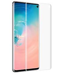 abordables -Protector de pantalla para Samsung Galaxy S9 / S9 Plus / S8 Plus PET 1 pieza Protector de Pantalla Frontal Alta definición (HD) / A prueba de explosión / Ultra Delgado