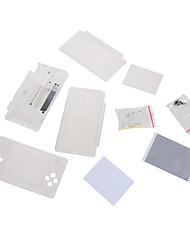Недорогие -замена для Nintendo DS Lite корпуса корпуса объектива экрана кристально чистый