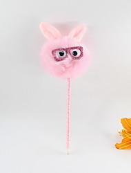 Χαμηλού Κόστους -πλαστικό γυαλί μαλλιών γυαλιών ηλίου γαλάζιο μολύβι μολύβι μολύβι μπάλα δώρα σκάφη για τα παιδιά που μαθαίνουν γραφείο χαρτικά