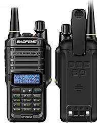 Недорогие -Новое обновление baofeng uv-9r плюс рация 10 Вт 4800 мАч укв двухдиапазонный ручной двухстороннее радио водонепроницаемый fm переносной цифровой трансивер
