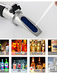Недорогие -Рефрактометр алкоголя метр алкоголя метр 0 ~ 80% об. / об. ручной инструмент ареометр rz116 концентрация алкоголя тестер вина