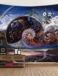 Недорогие -Сад / Классика Декор стены 100% полиэстер Modern Предметы искусства, Стена Гобелены Украшение