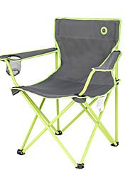 Недорогие -BEAR SYMBOL Складное туристическое кресло с подстаканником Водонепроницаемость Складной Удобный Стальная труба Водонепроницаемая ткань Оксфорд для 1 человек Походы Весна Лето Зеленый
