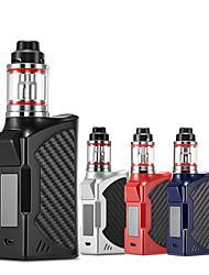 Недорогие -Vape Kit 90 Вт электронная сигарета испаритель мод коробка Box кальян мех Vaper курительный набор E курить кальян ручка огромный паровой аккумулятор 2200 мАч