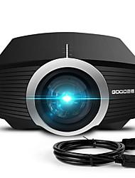 ieftine -mini proiector modernizat în 2018 80% lumen video proiector compatibil cu bara de televiziune incendiu hdmi vga usb home cinema proiector de film