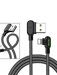 Недорогие -1 шт. / 2 шт. Для iphone x iphone 8 плюс 7 apple интерфейс USB зарядное устройство кабель для зарядки данных шнур